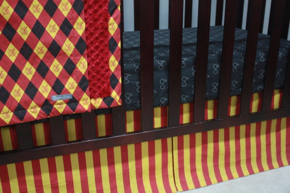 Harry Potter Baby Bedding by BedHogShop