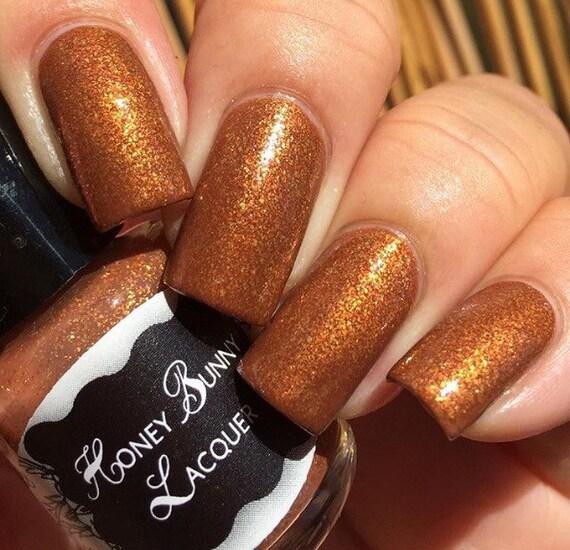 Indian Sunset Copper Nail Polish Shimmer Nail Polish