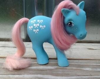 G1 My Little Pony BOW TIE: Earth Pony (Longer Hair Variant)