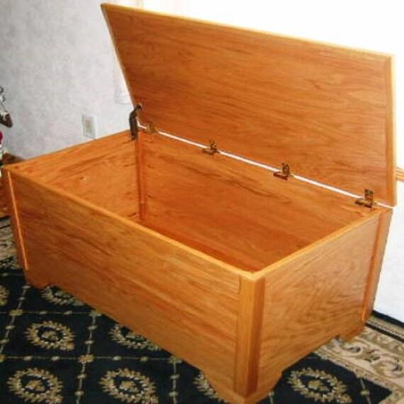 Wooden blanket chest building plans for Blanket chest designs