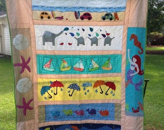Row by Row 2015 Quilt -- ONE OF A KIND