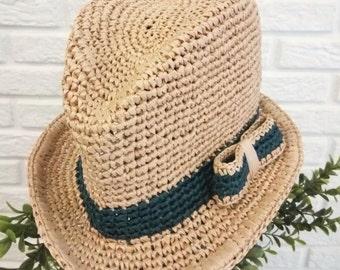 Crochet Summer Hat Trilby
