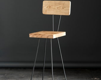 Industrial Modern Bar Stool