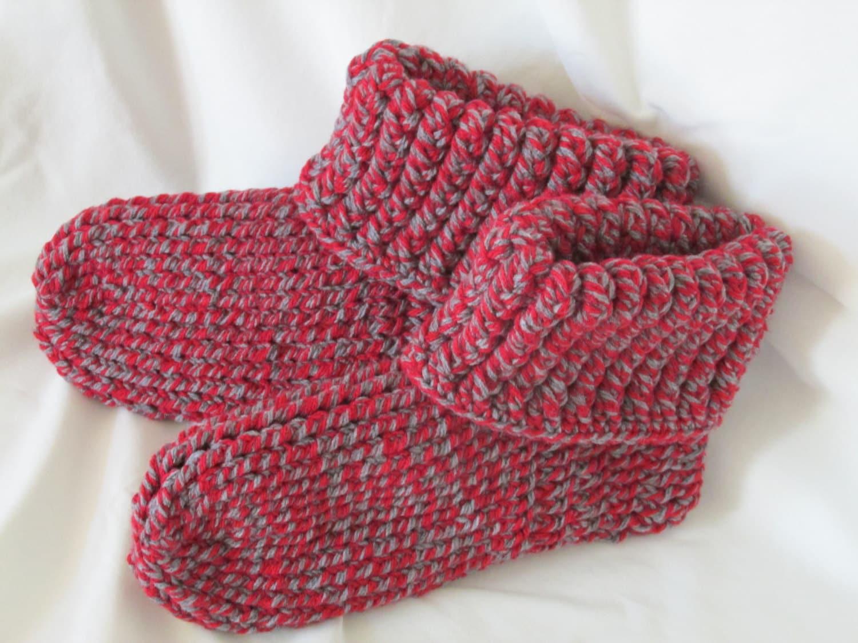 knit look slipper bootees slipper boots unsiex slipper