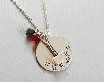 Marvel Avengers Thor Necklace. If He Be Worthy