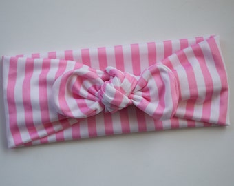 Poolside Pink small stripe tie