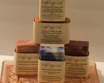 All Natural Soap, Handmade Soap, Homemade Soap, Handcrafted Soap, Cold Process Soap