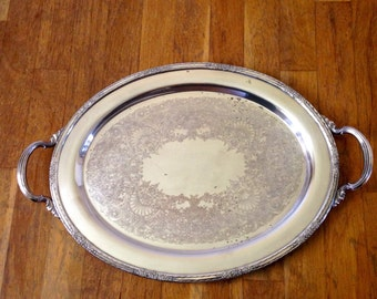International Silver Camille Tray