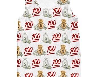 100 Money Bags Tank top