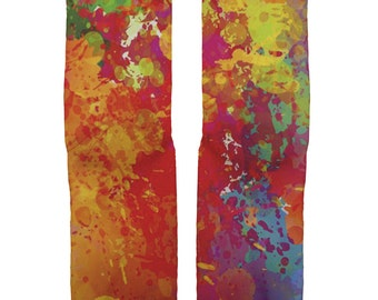 Splash Paint Party Socks