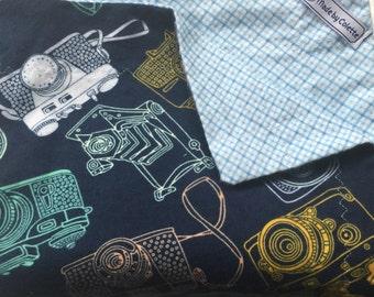 Vintage Cameras Baby Blanket