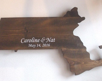 Wooden State Guest Book, Guestbook Alternative, Rustic Wedding, Guestbook, Unique Guestbook, Home State Guestbook, Wedding Guestbook