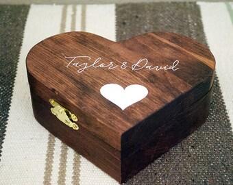 Wedding Ring Box, Ring Bearer Pillow, Rustic Ring Box, ring box, wedding box, ring bearer, rustic wedding, box for rings