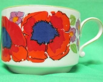 Henrich Tea Cup - Floral Design