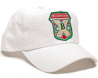 New Bushwood Hat Country Club Caddyshack Movie One Size Baseball Cap White