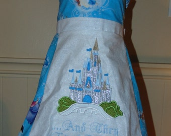 Happily Ever After Cinderella Castle Dress Prince Charming Custom Disney Vacation