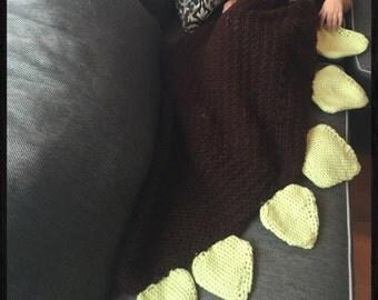 Dinosaur Tail Blanket(Sack)