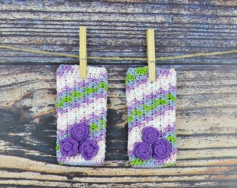 Flower Legwarmers - Pink- Purple- Green- Baby