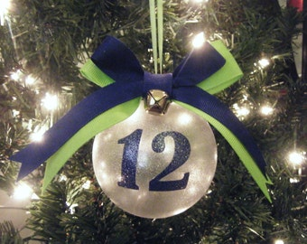 Seahawks 12th Man Christmas Ornament | Christmas Ornament | Seattle Seahawks |