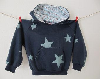hoodie, sweatvest 3-4r