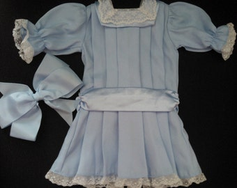 American Girl Pleasant Company Samantha's Skating Party Dress ... From Samantha's First Release ... Excellent Vintage Condition ... Retired