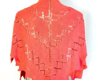 Cherry Lane Shawl Pattern