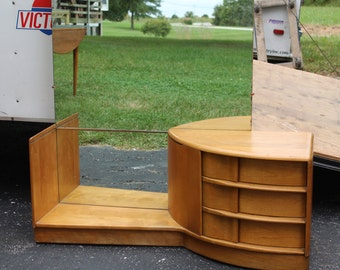 Mid Century Heywood Wakefield vanity with stool--SALE!