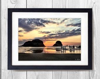 Sunset on Cannon Beach