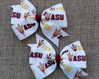 Arizona State University Sun Devils Bow Set