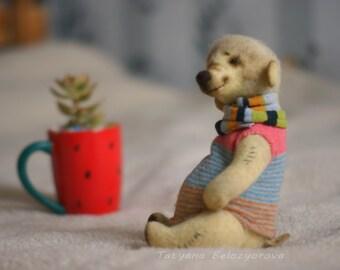 ooak teddy bear / ooak handmade / Teddy bear /