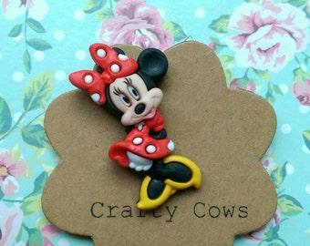 Minnie Mouse brooch Minnie pin badge Disney badge Disney Minnie Mouse gift Disney accessory