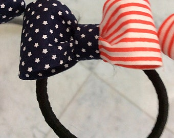 Hair Bow With pony holder