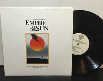 Empire of the Sun OST Album by John Williams, 1987 - 33 RPM LP 9-25668-1 - Excellent Condition