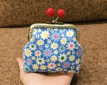 Coin Purse,Ear Bud Case,  Ear Bud Holder,Coin Purse,Small clutch,Made to Order