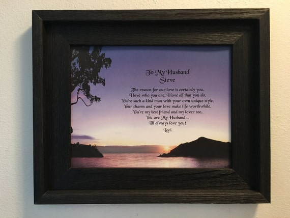 Gifts For Husband 25th Wedding Anniversary: Anniversary Gift For Husband Personalized By