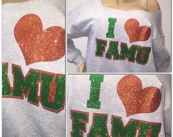 ON SALE I love Famu