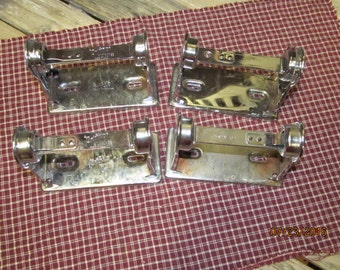 Vintage lot of 4 Stainless Steel Made in USA Toilet Paper Dispenser Industrial Grif-Ho Grifho