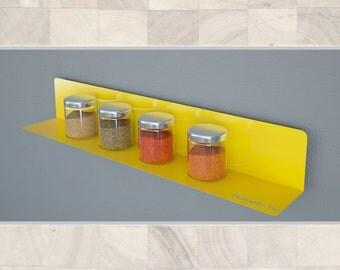 Wall Art Decor Laser Cut Decorative Metal Shelf - Functional Home Decoration