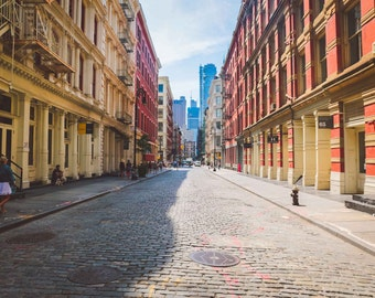 New York City Photography, SoHo, NYC, Fine Art Photography, Large Wall Art, Home Decor, New York City, Architecture