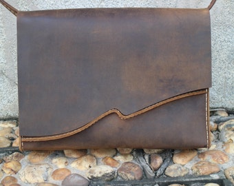 Leather messenger bag,laptop bag,notebook,camera bag, leather satchel,cow leather ,handmade,gift.