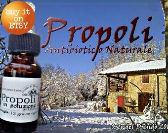 Mother tincture of Propolis Pure 10 ml