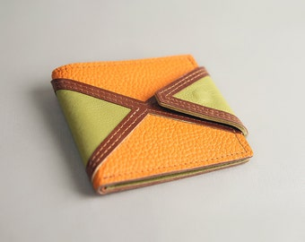 Leather Wallet «Rhombus»