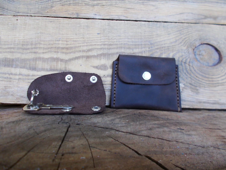 Car Key Holder, Coin purse, Leather purse, Business card case, Key ...