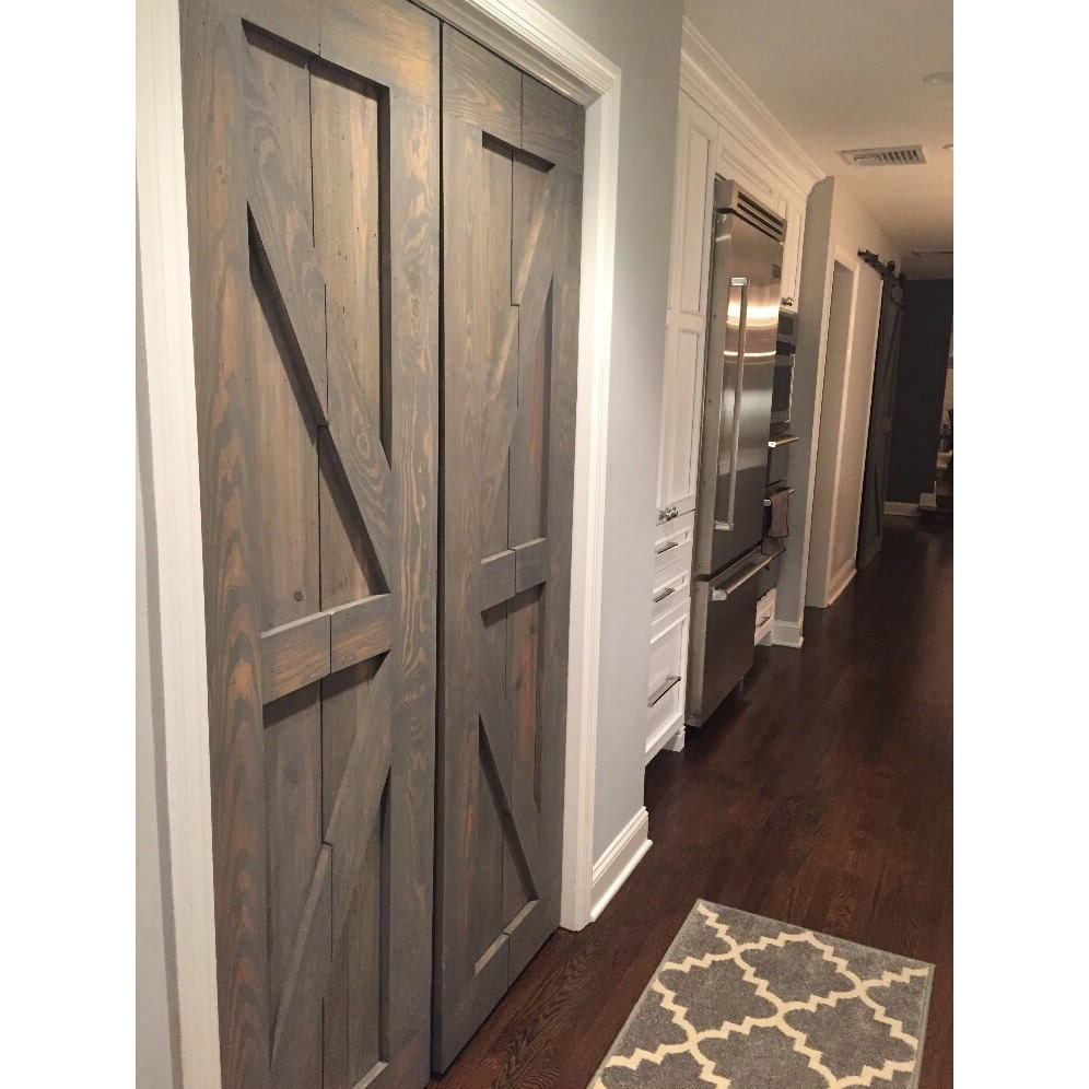 Hinged bi fold sliding pantry doors by rustic luxe for Sliding pantry doors