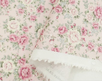 Laminated Cotton Fabric Rose Pink By The Yard