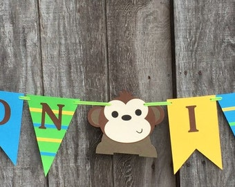 Safari Baby Shower Banner, Baby boy shower, Jungle birthday Banner, Gender Reveal Banner, Jungle themed party decorations,