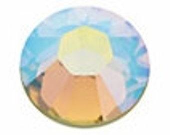 16ss JONQUIL AB Swarovski crystal flatback rhinestones. aurora borealis.