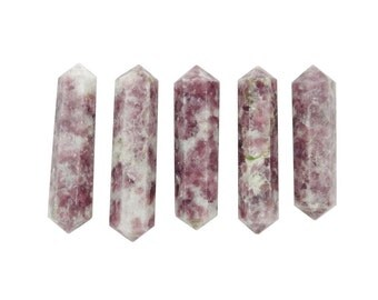 Lepidolite Double Terminated Crystal Point  (RK50B11b-03)