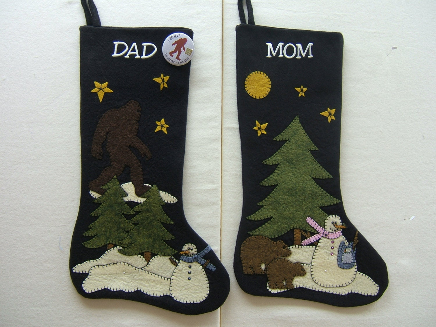 Custom Christmas Stocking Design Your Own Personalized