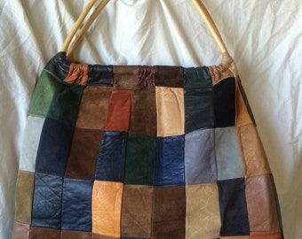 70's Patchwork Leather Bag